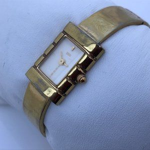 Foce Ladies Vintage Watch Swiss Quartz Analog Gold